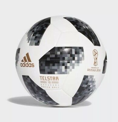 ADIDAS FIFA World Cup Official Game Ball Soccer Telstar 18 Russia Match ball OMB