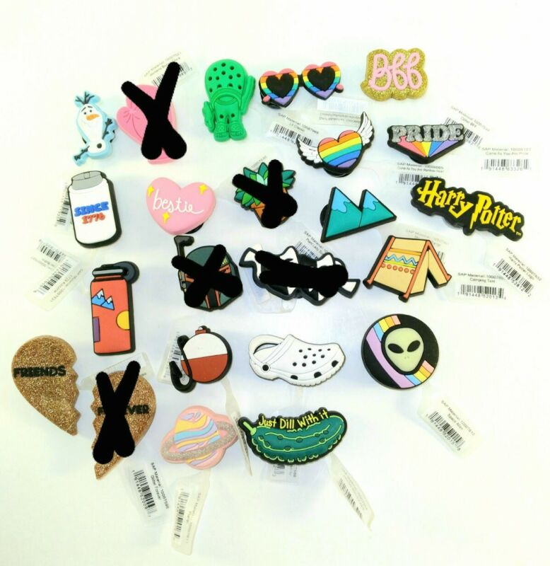 Croc Jibbitz Shoe / Bracelet Charms New With Tags! Mix & Match! 16 STYLES!