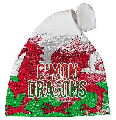 Wales Baby Fußball Hut C'Mon Drachen