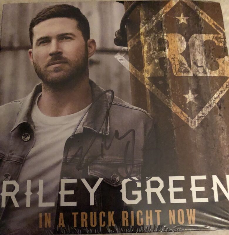 AUTOGRAPHED Riley Green  In A Truck Right Now [EP] CD SIGNED