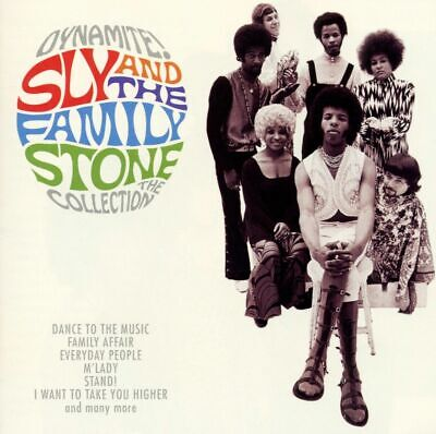 Sly And The Family Stone: Dynamite! CD (Greatest Hits / The Very Best (Best Of Sly And The Family Stone)