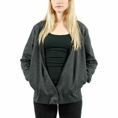 PUMA x HUSSEIN CHALAYAN UM Sweat Wrapped Jacket Dark Grey $140