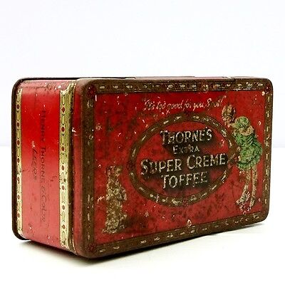 Vintage Thorne's Confectionery Toffee Tin
