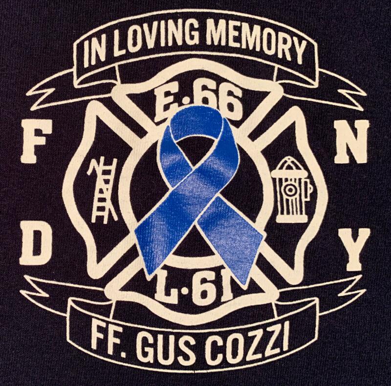 FDNY NYC Fire Department New York City T-Shirt Sz XL Engine 66 L 61 Bronx