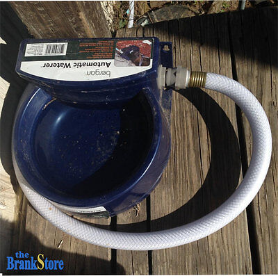 Automatic Pet Waterer Auto Dog Bowl Water Dispenser Cat Chicken Dish Supplies