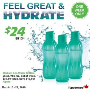 Tupperware Water Bottle Sale