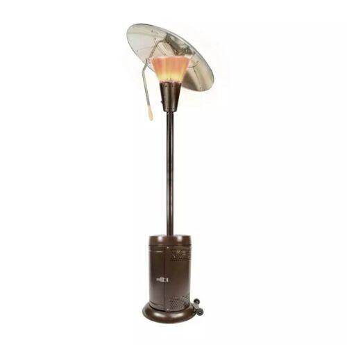 Hampton Bay Propane Gas Patio Heater 38200 BTU Bronze Heat F