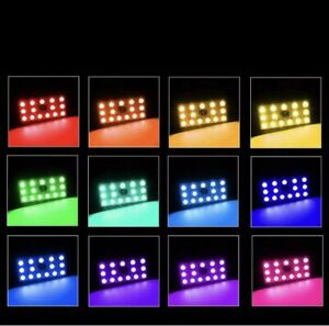 LED 12 colour with remote control