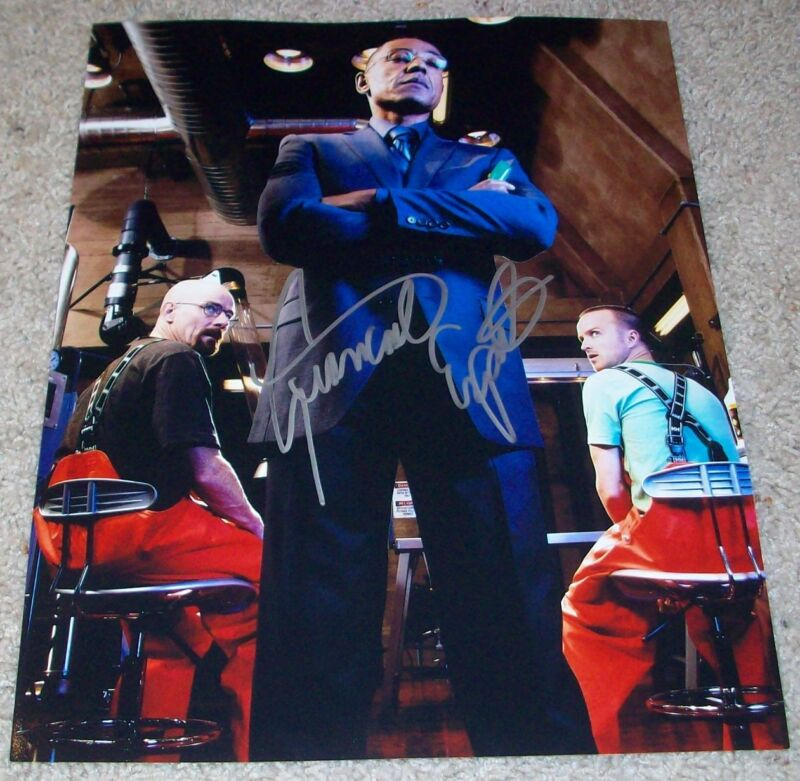 GIANCARLO ESPOSITO BREAKING BAD SIGNED AUTOGRAPH 11x14 PHOTO A w/PROOF GUS FRING