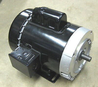New 13hp Electric Pump Motor 115230 1ph 3450 Rpm Single Phase 979350 C63jxjbk