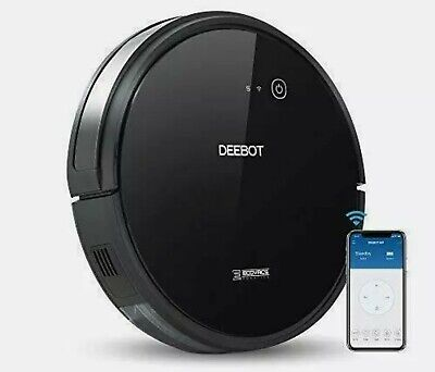 Ecovacs Deebot 601 Robotic Vacuum Cleaner with S Shaped Systematic Movement