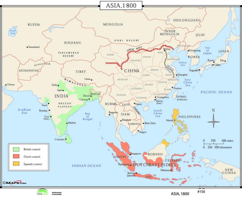 150 Asia, 1800