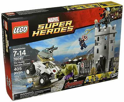 LEGO 76041 Marvel Super Heroes Avengers The Hydra Fortress Smash Set *Retired*