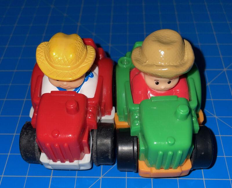 Fisher Price Wheelies 2 Tractors