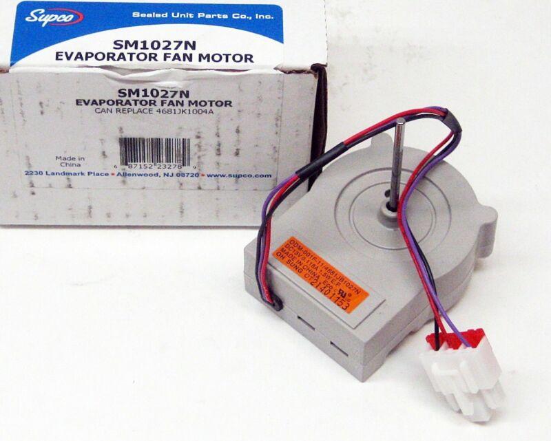 Supco SM1027N Refrigerator Evaporator Fan Motor for LG 4681JK1004A