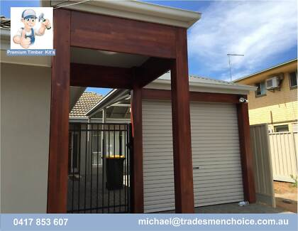 PERGOLAS, CARPORTS AND DECKS Old Reynella Morphett Vale Area Preview