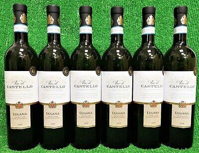 (7,98,€/l) 6x Via al Castello Lugana DOC weiß trocken Italien Weißwein