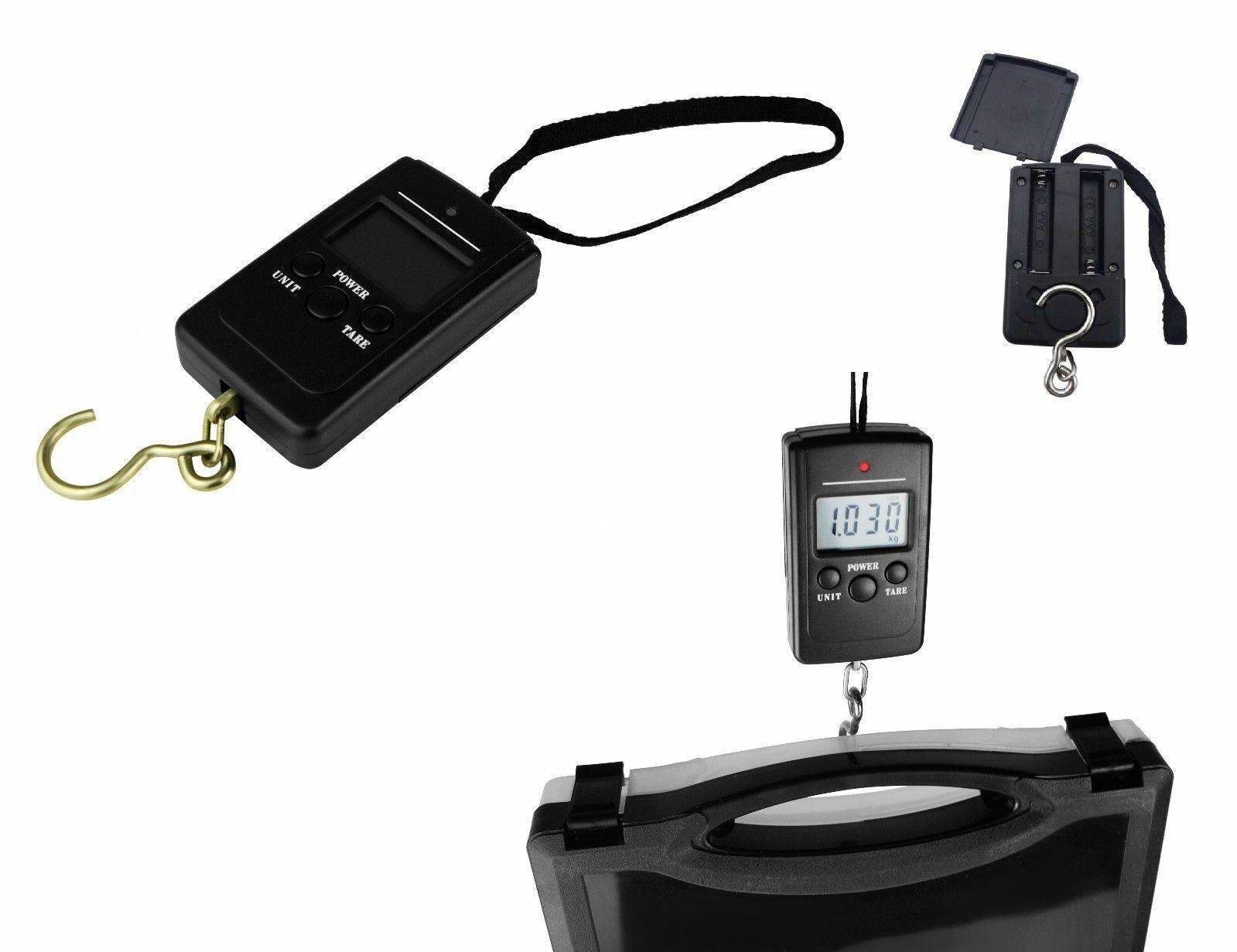 50kg Digitale Gepäckwaage Kofferwaage Hängewaage Paketwaage Handwaage Reisewaage