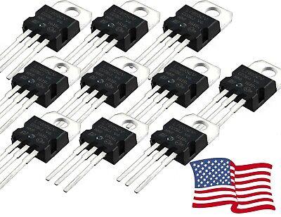 L7805cv L7805 7805 Positive Voltage Regulator Ic 5v 1a To-220 5-100pcs - Usa