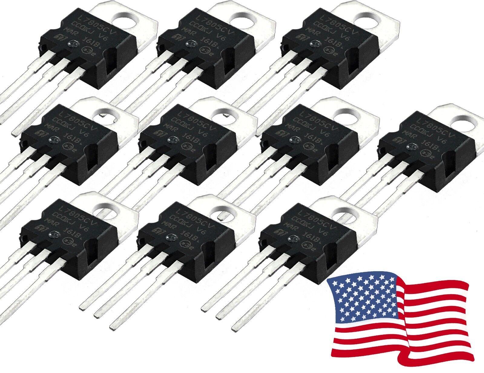 L7805CV STMicroelectronics V Reg 7805 5.0V To-220-3