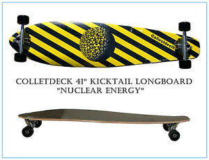 CollectDeck-Skateboard-Maple-Complete-Deck-kicktail-longboard-41-x-9-Nuclear