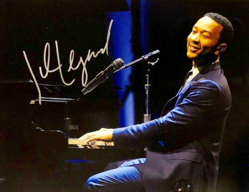 JOHN LEGEND AUTOGRAPHED Hand SIGNED 11x14 PHOTO R&B Singer Songwriter w/COA