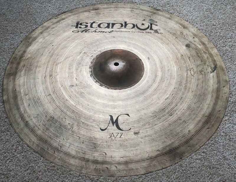 "Istanbul Mehmet 22"" MC Jazz Ride Cymbal 2420g Excellent!"