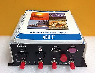 Ashtech Adu3 Altitude Determining Computer Includes Ops Reference Manual New