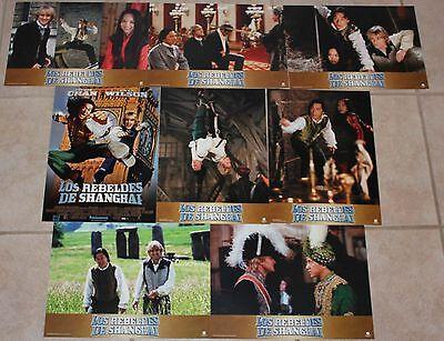 Jackie Chan Shanghai Knights lobby card set 8 Owen Wilson Fann Wong