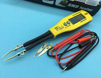 Tweezers Smart Smd Rc Resistance Capacitance Diode Meter Tester Pen Multimeter