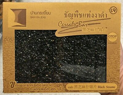 100g Cereals Bar Black Sesame Snack Health Food Thailand Best Quality