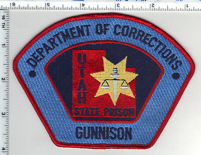 Utah State Prison Dept. of Correction Gunnison Shoulder Patch from the 1980's