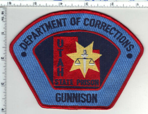 Utah State Prison Dept. of Correction Gunnison Shoulder Patch from the 1980