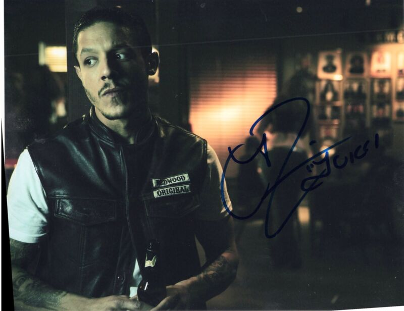 Theo Rossi Sons of Anarchy TV Show Juice Signed 8x10 Photo w/COA #3