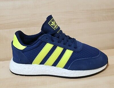 Mens ADIDAS I-5923 Size 9 Athletic Shoes F34270 Navy Blue Boost ultra pure  -