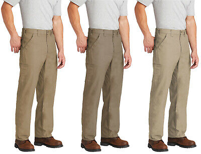 Carhartt Men's Canvas Work Dungaree Loose Fit Workwear B151 Work Carpenter Pant