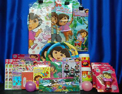 Dora The Explorer Party Set # 26 Dora The Explorer Party Supplies For 16 - Dora Party Supplies