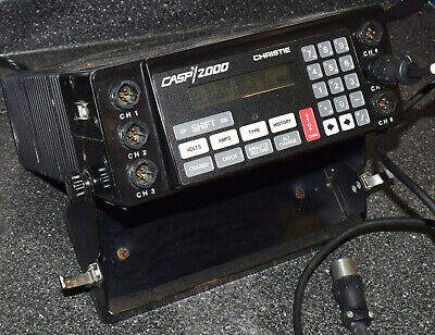 Christie Casp 2000h 6 Channel Battery Analyzer Charger Military Ppp-8333u