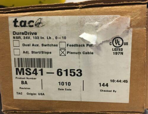 TAC duradrive actuator MS41-6153
