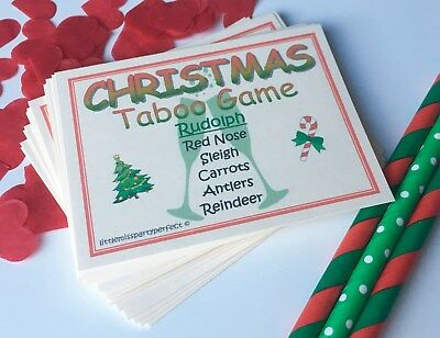 Kids Christmas Party Games (Christmas Taboo Party Games New Year Adult Children Christmas Day)