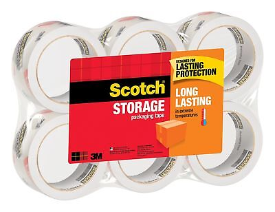 3m Scotch Moving Storage Packing Tape Heavy Duty Shipping Boxes Packaging Rolls