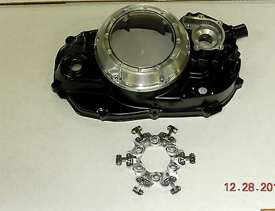YAMAHA BANSHEE CLUTCH LOCK UP COVER   // BANSHEE QUICK CHANGE COVER WITH LOCK UP