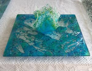Exquisite Glass Platters & Wall Hangings