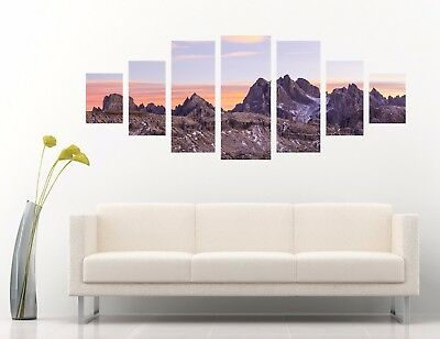3D Natural Mount Peak 5 Unframed Print Wall Paper Decal Wall Deco Indoor AJ Wall ()