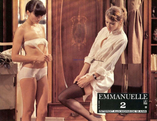 EMANUELLE II SYLVIA KRISTEL SEXY PHOTO FROM 1976 SEQUEL