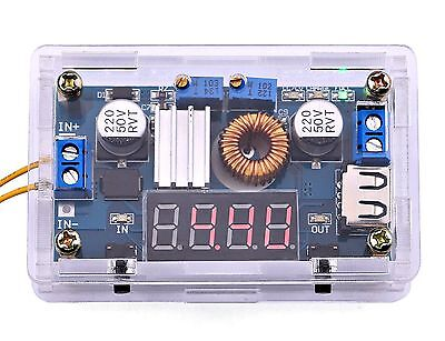 Yeeco Dc Dc Voltage Regulator 5-36v To 1.25-32v Buck Converter Step Down ... New
