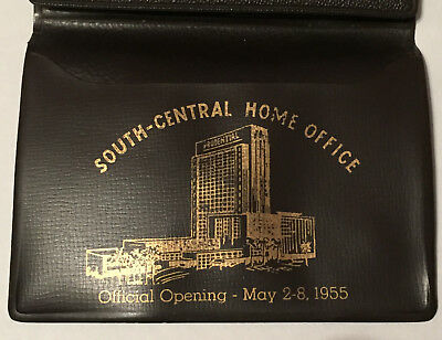 Prudential Insurance 1955 Piece Of The Rock Wallet Home Office Ceremony
