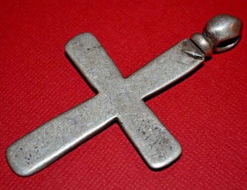 Silver Antique Ethiopian Coptic Orthodox Christian Cross Pendant Ethiopia Africa