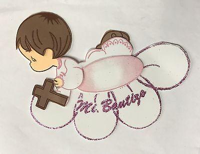 10pc Bautizo Baptism Centerpiece Decoration Foam Girl-Boy Favor Cross Cruz
