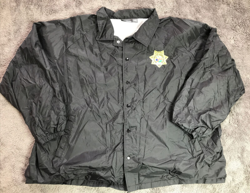 Authentic Department Of Juvenile Justice Florida Jacket Police Sheriff 4xl